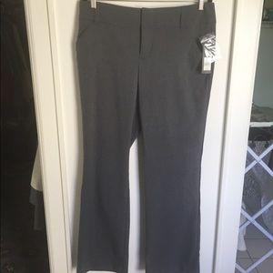 Daisy Fuentes gray trouser